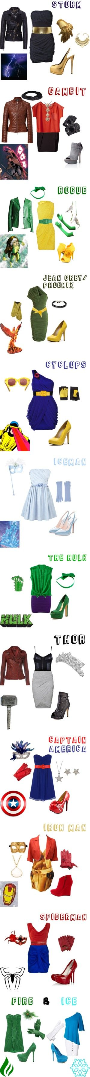 Superhero Outfits by adinam518 on Polyvore featuring Giuseppe Zanotti, Sequin, Barbour, Hasselblad, storm, superhero, MANGO, MTWTFSS Weekday, Salvatore Ferragamo and Camilla Skovgaard