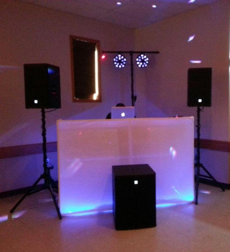 dj setup lit up dj setups in 2019 dj setup dj lighting dj equipment. Black Bedroom Furniture Sets. Home Design Ideas
