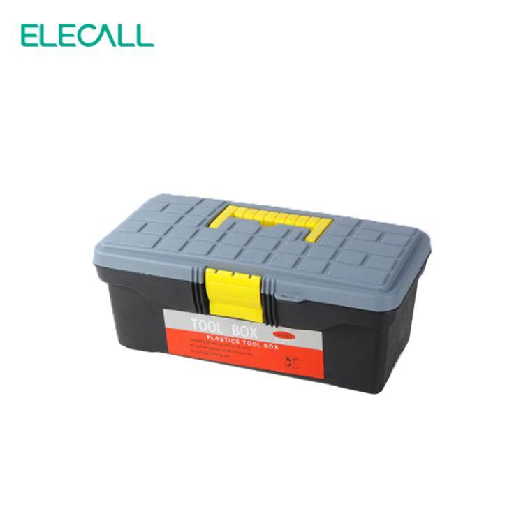 ELECALL 12.5 pouces Mini Boîte à Outils En Plastique Boîte De Stockage Portable Boîte Pour Tournevis Couteau Ruban Mesureur Pincettes