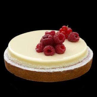 Cheese-cake framboise - des gâteaux et du pain