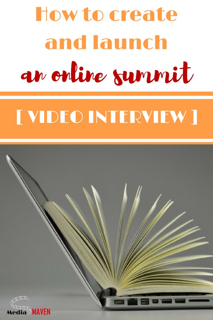 VIDEO INTERVIEW: How to create and launch an online summit