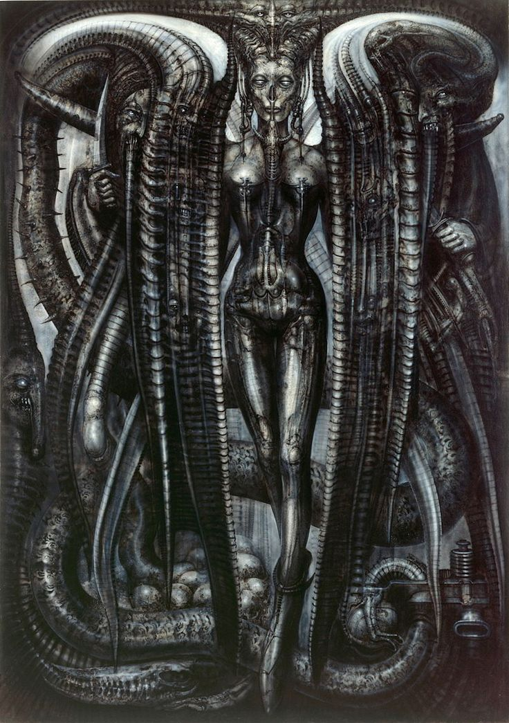Lilith by H.R. Giger (Hans Rüdi Giger)