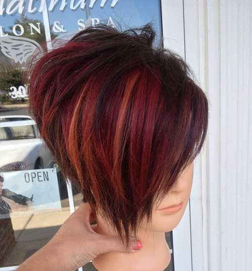 14 Cool Funky Hairstyles Hair Pinterest Red Ombre