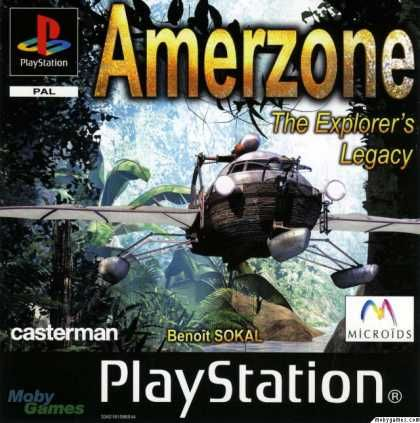 PlayStation Games - AmerZone: The Explorer's Legacy