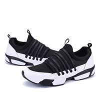 Fall Winter New Fashion Men Casual Shoes Breathable Slip on Canvas Shoes Low top Black Boat Shoes
