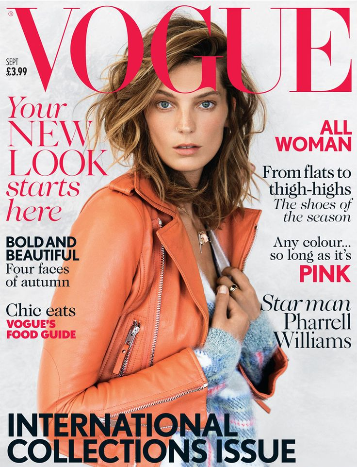 Daria Werbowy shot by Patrick Demarchelier for Vogue  UK September 2013 _