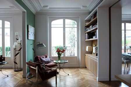 Alia Bengana's Redesigned Apartment in Paris | via Desire to Inspire | House & Home
