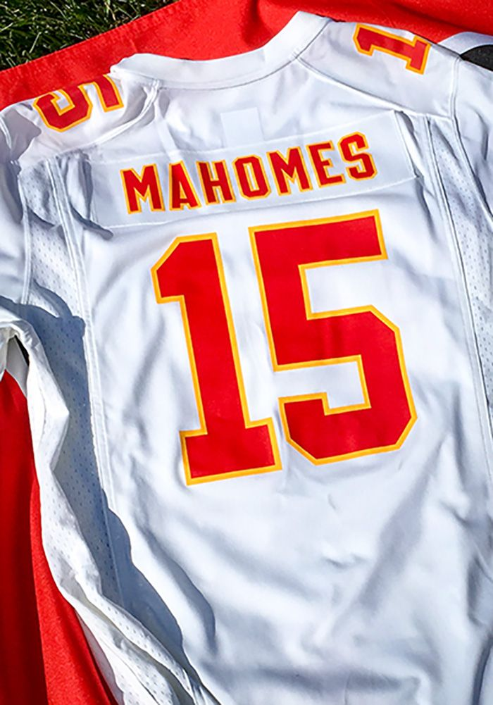 5e06c5d87b8 Patrick Mahomes Nike Kansas City Chiefs Mens White 2018 Away Football Jersey  - Get a piece of the #KCChiefs action with this #KansasCity #Chiefs White  2018 ...