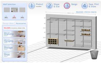 Closet Design Tool - Design your Closet with our Interactive Closet Designer - Rubbermaid Adventures in Organization