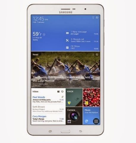 Samsung Tablet CES2014