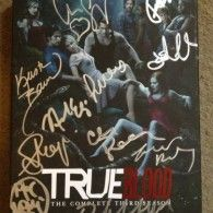 E.J. Scott wrote -  This is a SIGNED copy of Season 3 of HBOs hit TV Show, TRUE BLOOD (New season begins June 16th). Deborah Ann Woll (my girlfriend) brought this to the set and got many signatures for it. 11 in totalSTEPHEN MOYER (Bill Compton)ALEXANDER SKARSGARD (Eric ...