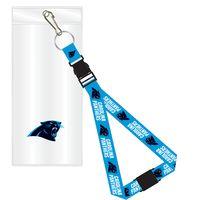 Carolina Panthers Lanyard w/ Ticket Holder