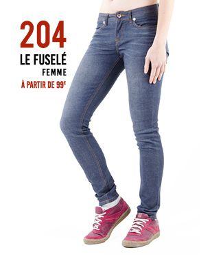 Jeans 100% coton biologique fabriqué à moins de 1083km de chez vous !