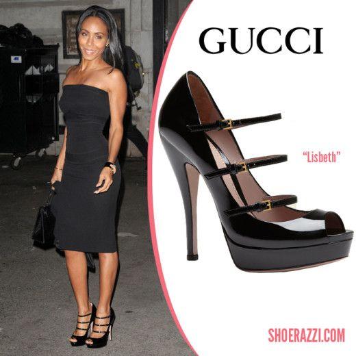 Gucci-Lisbeth-Platform-Pump-Jada-Pinkett-Smith http://www.swankyheels.com