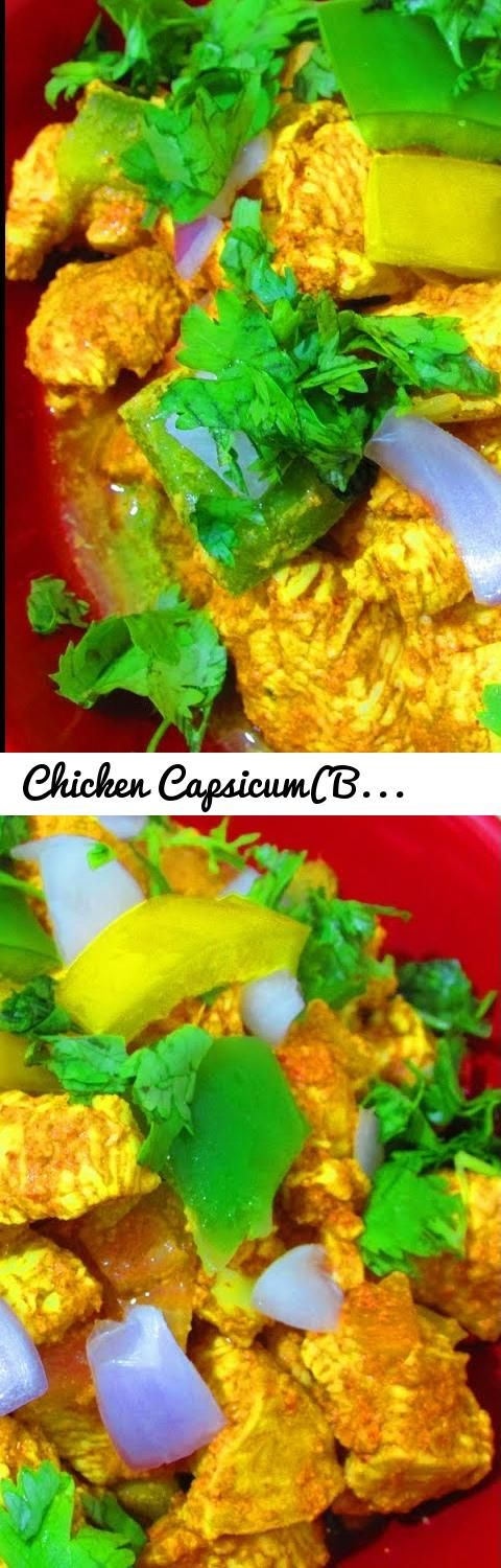 Chicken Capsicum(Bell Pepper) Curry - Tasty Recipe... Tags: chilli chicken, kitchen, recipe, chicken meat (food), capsicum chicken, recipes, food, chicken recipes, chicken (animal), chicken recipe, chicken, how to make, how to cook, capsicum (ingredient), how to, spicy chicken, chicken 65, kadai capsicum chicken, indian cuisine (cuisine), punjabi, dhaba, chicken manchurian, capsicum chicken recipe, pepper chicken, chicken capsicum curry, cooking, dish, curry, indian, masala, green bell…