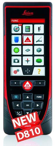 """Il Nuovo Leica Disto D810 touch è il primo misuratore laser con Touch Screen e Fotocamera integrata, consentendo un funzionamento rapido e intuitivo. Grazie alla telecamera integrata, è possibile effettuare misurazioni sulle immagini, realizzare fotografie e scaricarle direttamente su computer, tablet e smartphone tramite cavo USB. Le numerose funzionalità vengono potenziate ulteriormente dall'App  gratuita  """"Leica DISTO ™ Sketch"""".  Da oggi documentare il rilievo diventa semplice e veloce"""