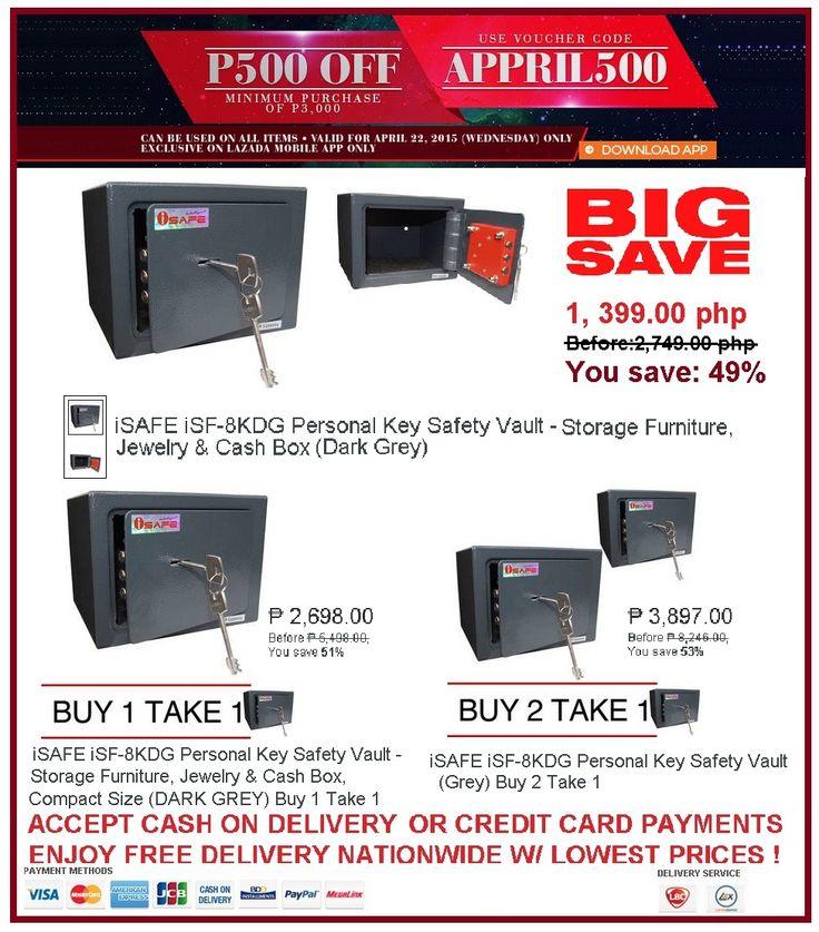 SAFE VAULT SALE Lazada Shop Online Exclusive on Mobile