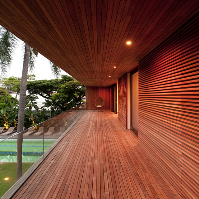 This is my dream house....always wanted a porch like this...Casa Grècia by Isay Weinfeld