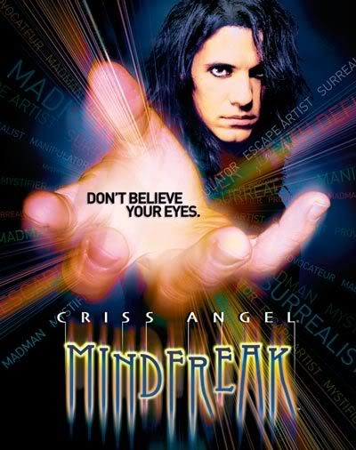 Criss Angel Mindfreak -- He is so entertaining! My kids and I loved watching his stunning large scale illusions but really, we loved his close up magic the most. Prepare to be amazed!!