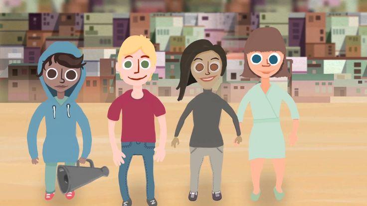 Mille arvoille ja periaatteille ihmisoikeudet perustuvat? Lyhyt video sopii esitettäväksi esimerkiksi kouluissa aihetta käsiteltäessä.