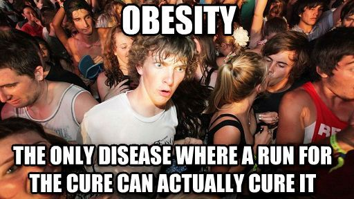 Run for your life - Imgur // I've overweight, not to far off from obese. But this still made me laugh!