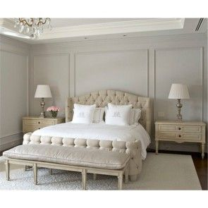 Una camera da letto classica di grande impatto grazie alle ...