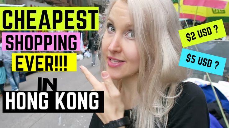 THE CHEAPEST SHOPPING EVER IN HONG KONG !! -Sham Shu Po Tour