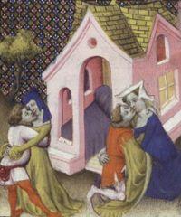 Giovanni Boccaccio, De Claris mulieribus, traduction anonyme en français Livre des femmes nobles et renommees http://gallica.bnf.fr/ark:/12148/btv1b84521932/f203.zoom