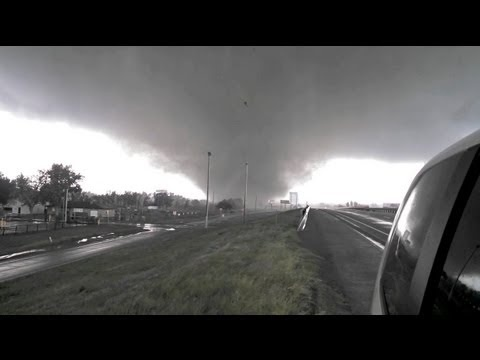 Oklahoma Tornado Formation? Exclusive Footage of the Deadly Oklahoma Twister - YouTube
