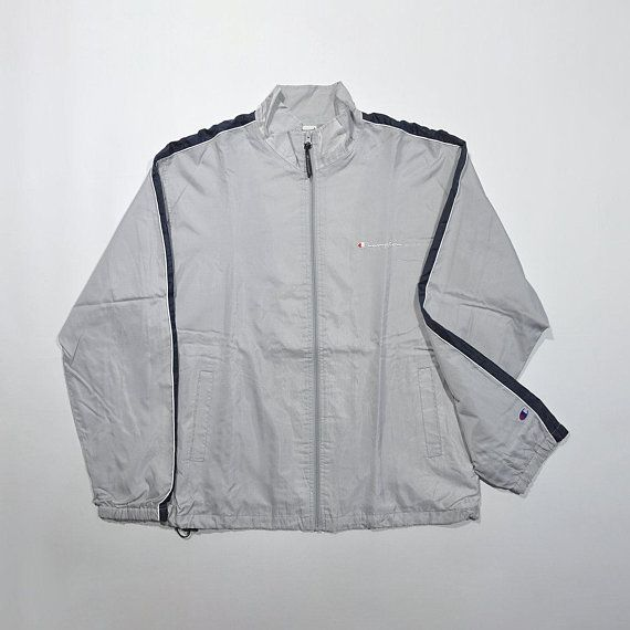 Rare Vintage 80s 90s CHAMPION Windbreaker Jacket CHAMPION