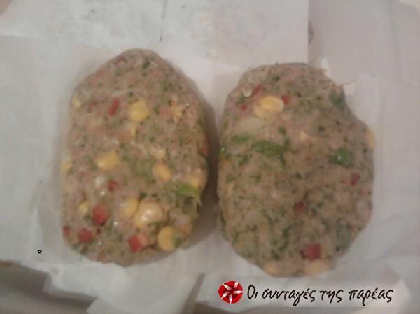 Μπιφτέκια λαχανικών φούρνου #sintagespareas