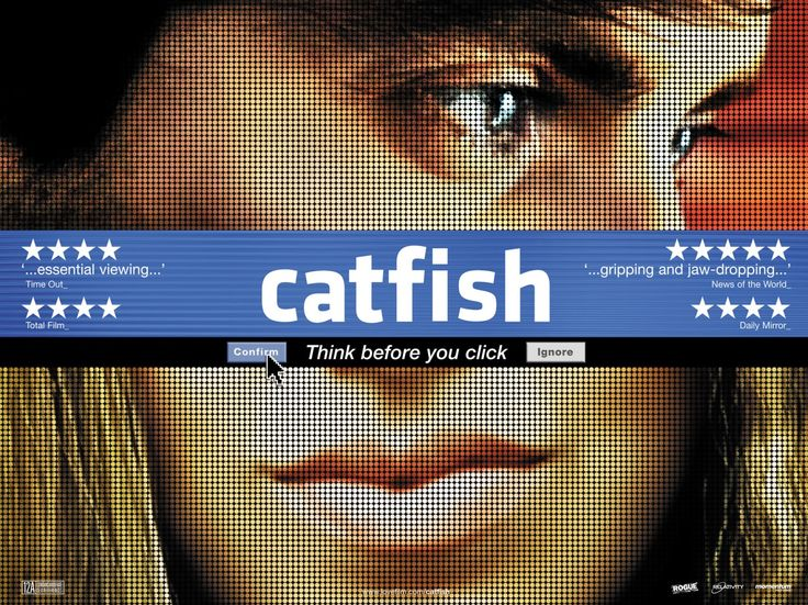 """Catfish, a 2010 film directed by Henry Joost and Ariel Schulman, is about Yaniv """"Nev"""" Schulman becoming romantically involved with a beautiful young woman on Facebook, only to discover that she is a made-up character. While the film is styled as a documentary, some have questioned its plausibility as an unfolding, caught-in-the-moment account of the hoax"""