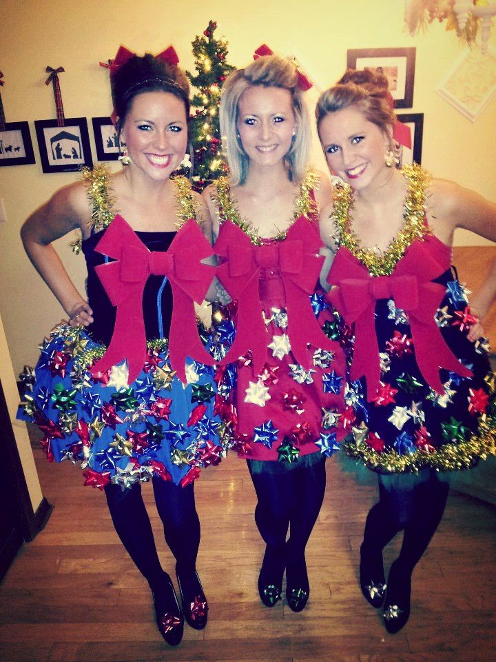 Ugly Sweater Party, Christmas outfit, Holiday, bows