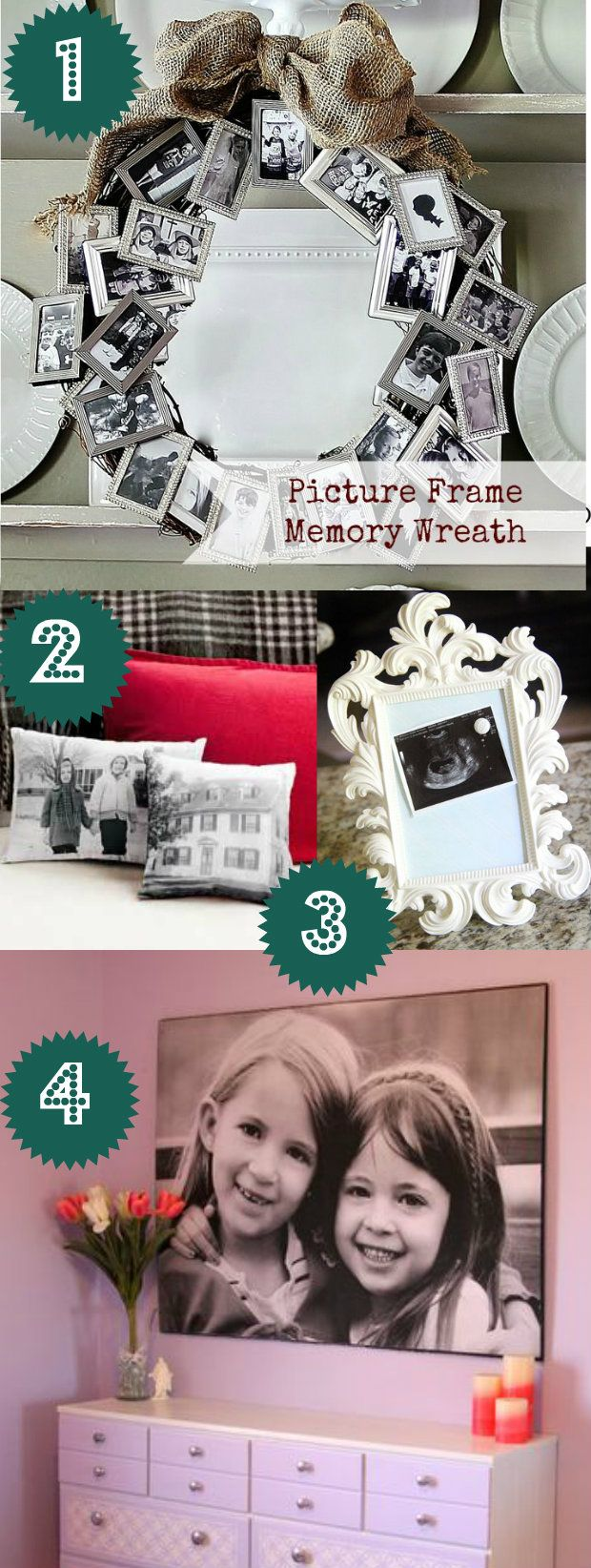 DIY Gift Ideas: 29 Handmade Gifts Did you know you can create a 3′x4′ black and white photo for around $5? You can! It's called an engineering print and your local office supply store should offer it. Print out your favorite photo and attach it to a pre-cut piece of particle board or painted plywood with spray adhesive. I love this gift idea because it's huge and inexpensive ;) .