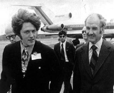 Bill Clinton & George McGovern