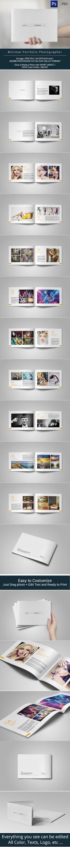 Minimal Portfolio Project on Behance