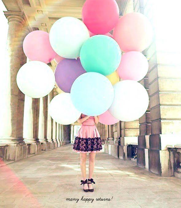 Девушки с воздушными шариками: pepelnaya