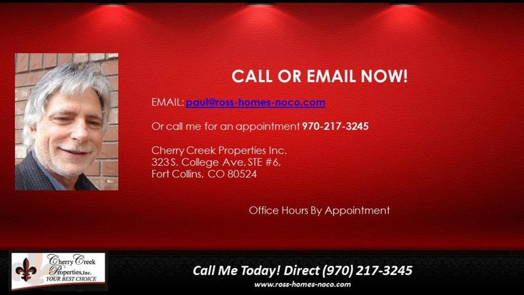 http://ift.tt/2kKZl7b http://ift.tt/2l0bNP4 Northern Colorados Most Experienced Agent - GUARANTEED SERVICE... GUARANTEED RESULTS  Real Estate Professional with over 28 years experience  Northern Colorado Real Estate / Luxury Homes / New Construction / Custom - Semi-Custom Homes in Northern Colorado.  When I list your home  I guarantee to get your home SOLD FAST!  Contact me today to learn about ALL of my my strategies to get you the highest price for your home in the shortest amount of time…