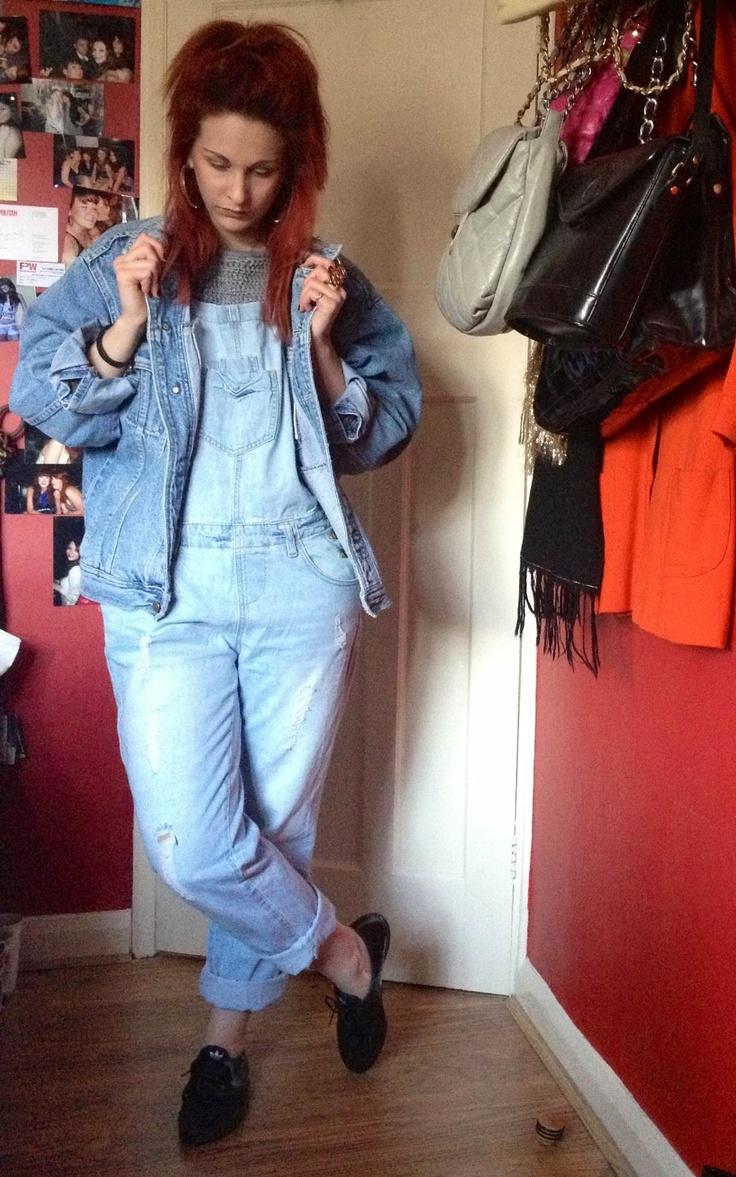 LJTfash.blogspot.co.uk #outfitpost #ootd #90s #dungarees