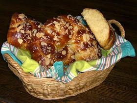 Onions Make Me Cry.: Tsoureki - Greek Easter Bread