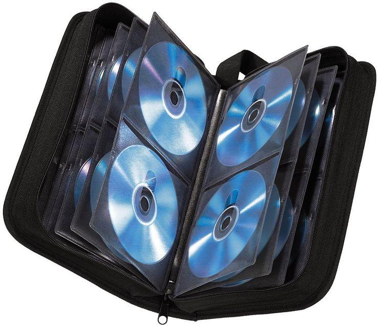 Hama CD-Wallet Nylon für 120 CDs, Schwarz, 12€ bei Amazon
