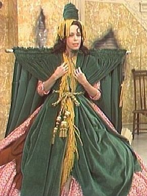 Carol Burnette (in the Gone With The Wind curtain outfit!)