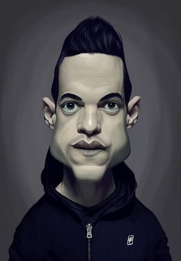 Rami Malek by robart at zippi.co.uk art | decor | wall art | inspiration | caricature | home decor | idea | humor | gifts