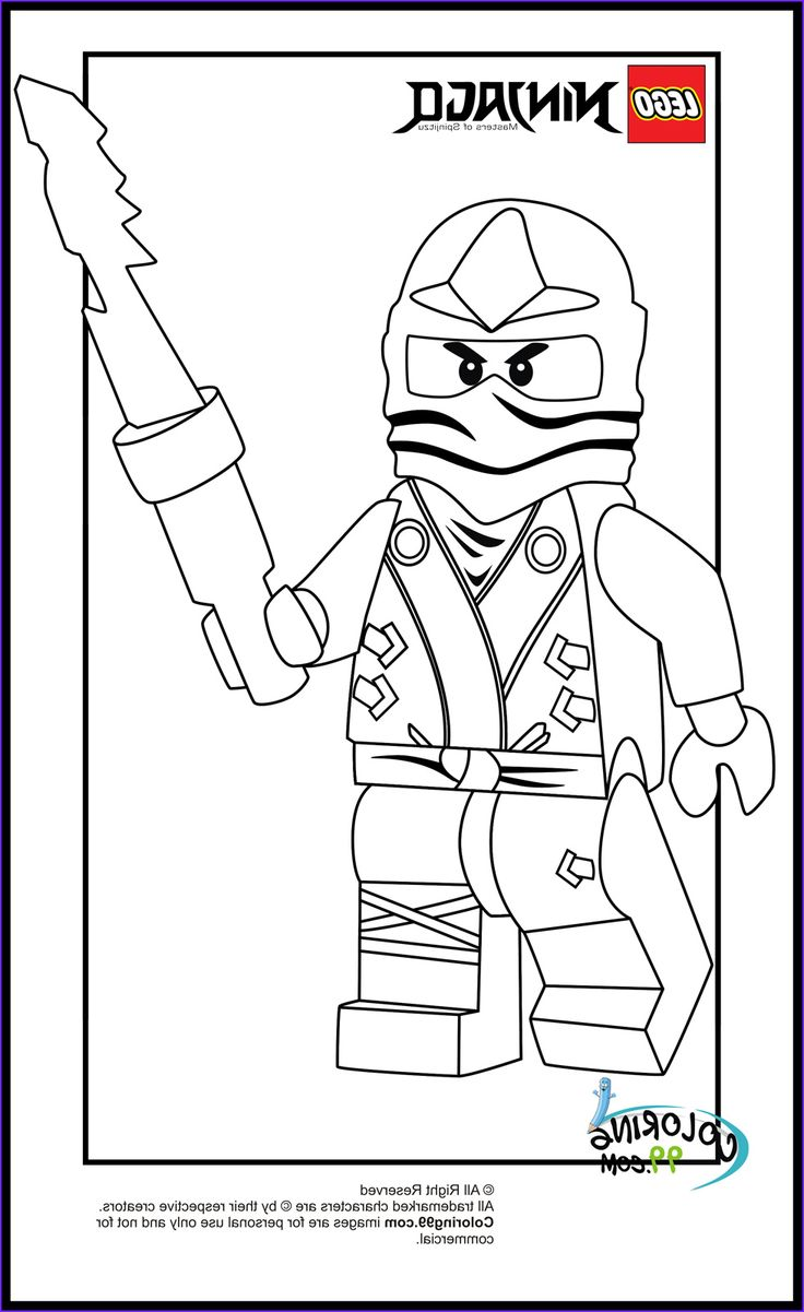 lego ninjago zane coloring pages in 2020 | kids coloring