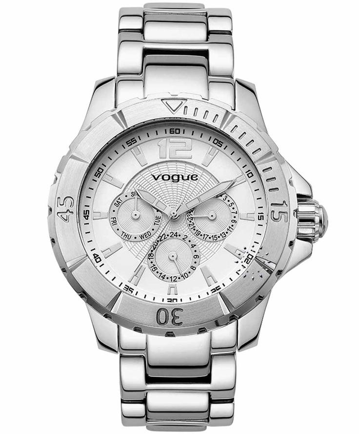 VOGUE City Stainless Steel Bracelet  Τιμή: 205€  Αγοράστε το εδώ: http://www.oroloi.gr/product_info.php?products_id=31489