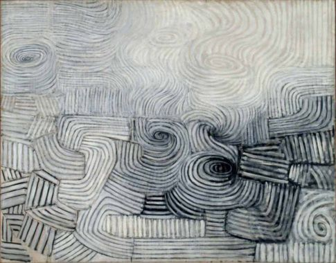 Spiral Development, The Snowstorm (1950-51) Victor Pasmore