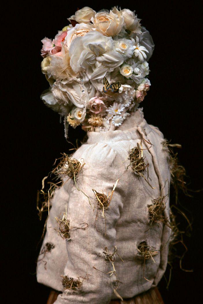 ❀ Flower Maiden Fantasy ❀ beautiful art fashion photography of women and flowers - Jun Takahashi / Undercover
