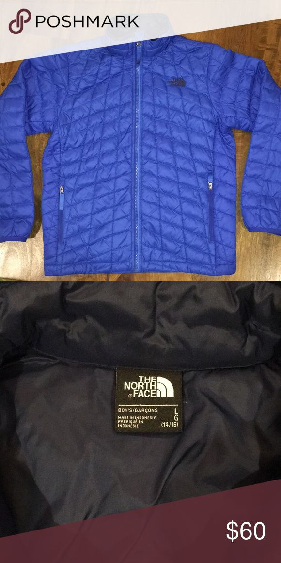 Boys North Face Thermoball Jacket Ultralight primaloft insulated jacket. Like new. Boys 14/16. North Face Jackets & Coats Puffers