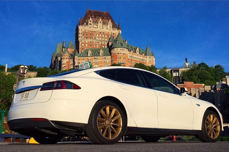 Tesla Taxi Quebec Canada Christian Roy Fb Electric Cars