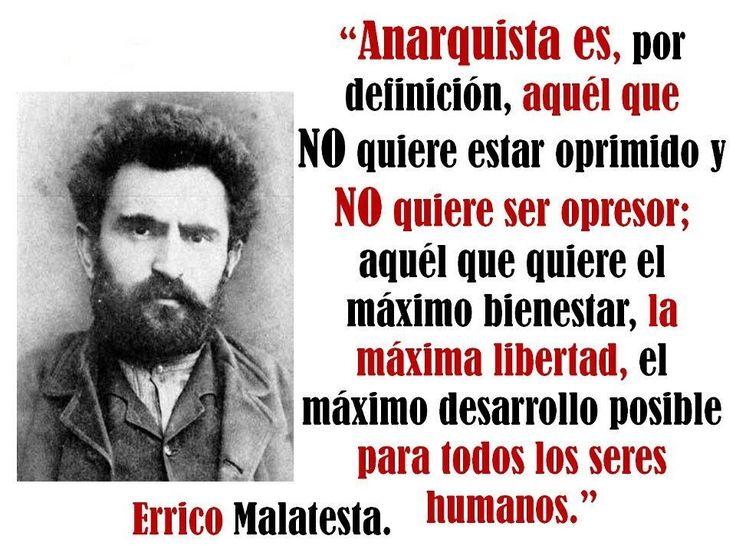 Anarquía de Errico Malatesta.